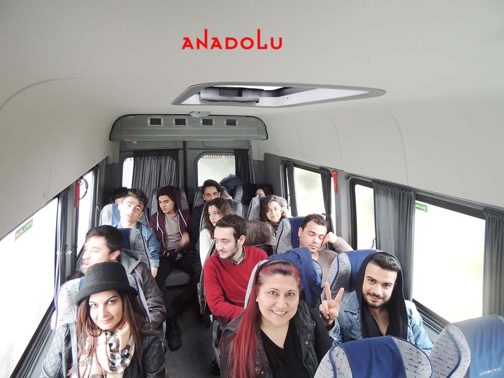 Anadolu Güzel Sanatlar Öğrencileri İle Sınavlara Gitme Bursa
