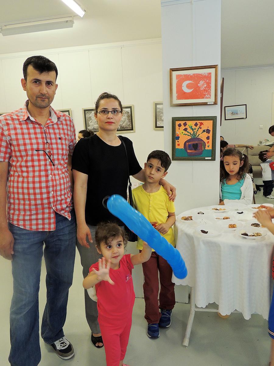 Çocukların Düzenlediği Sanat Sergileri Bursa