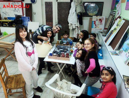 Bursadaki Çocuk Eğitimi ve Karakalem Çizimlerimi