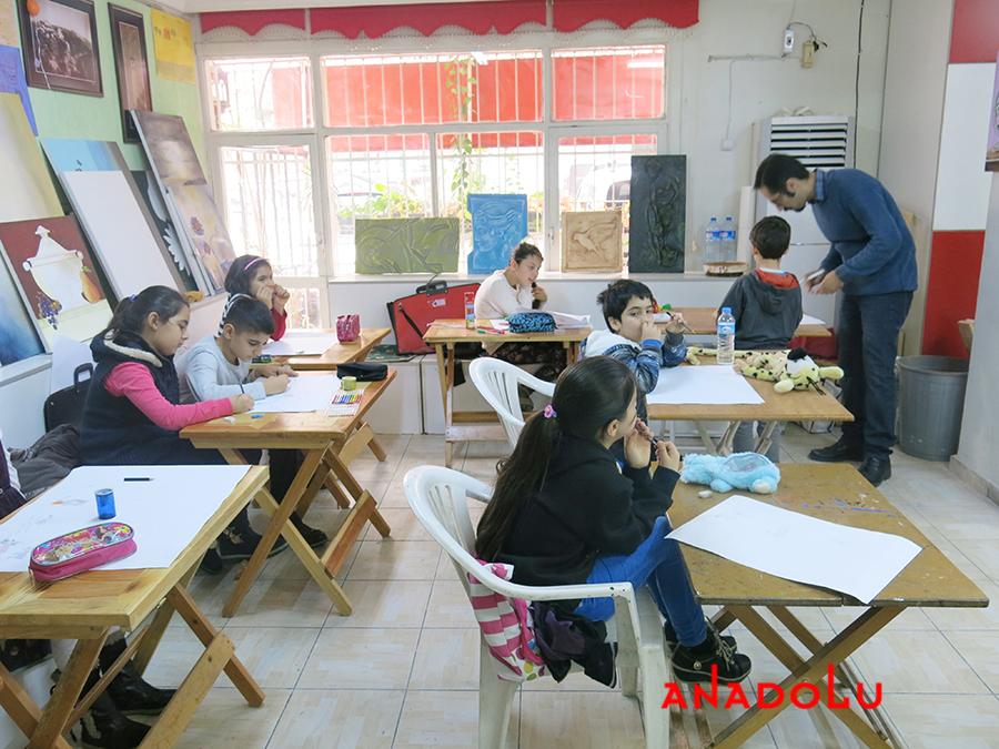 Çocuklar İçin Geliştirilebilir Yetenek Eğitimleri Devam Etmekte Bursa