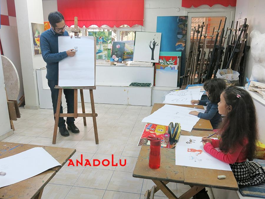 Çocuklar İçin Çizim Eğitimleri Bursa