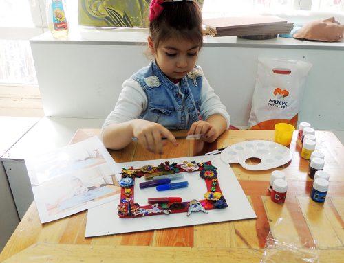 Bursadaki Çocuk Çizimlerinde Ressam İzleri