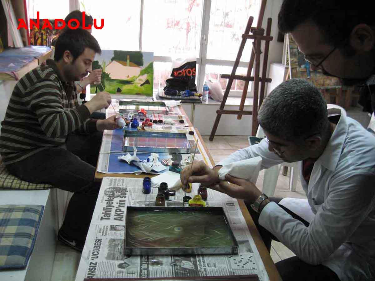 Ebru Kursunda Çalışanlar Bursa