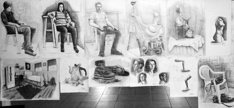 Güzel Sanatlarda Çıkmış İmgesel Çizimler Bursa