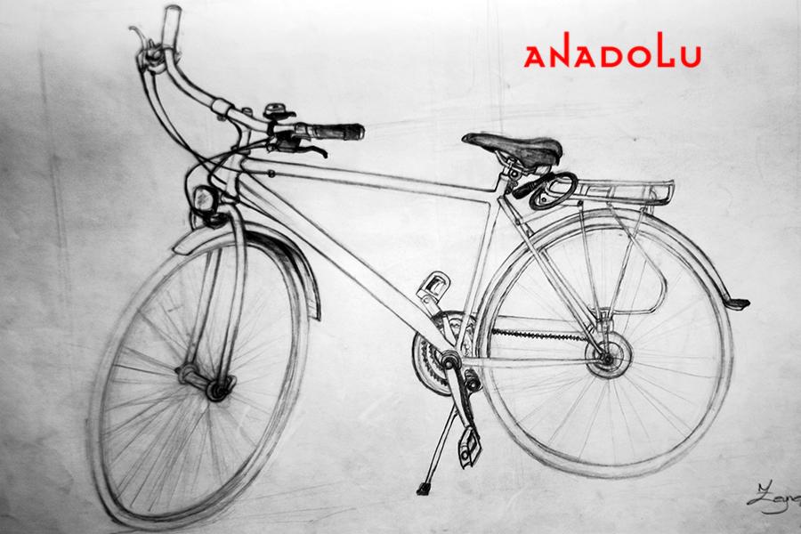 Bisiklet Çizim Örneği Bursa