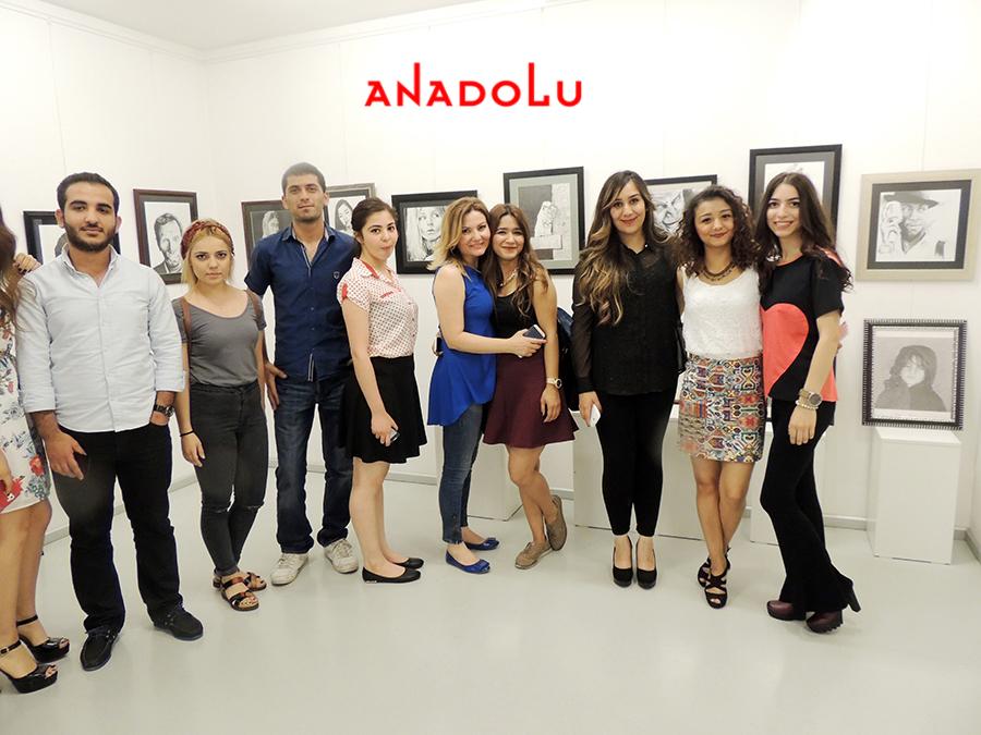 Bursada Anadolu Güzel Sanatlarda Sergi Açılışları