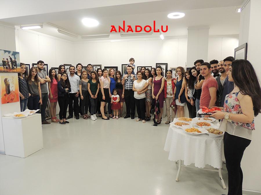 Anadolu Güzel Sanatlarda Sergi Açılışları Bursa