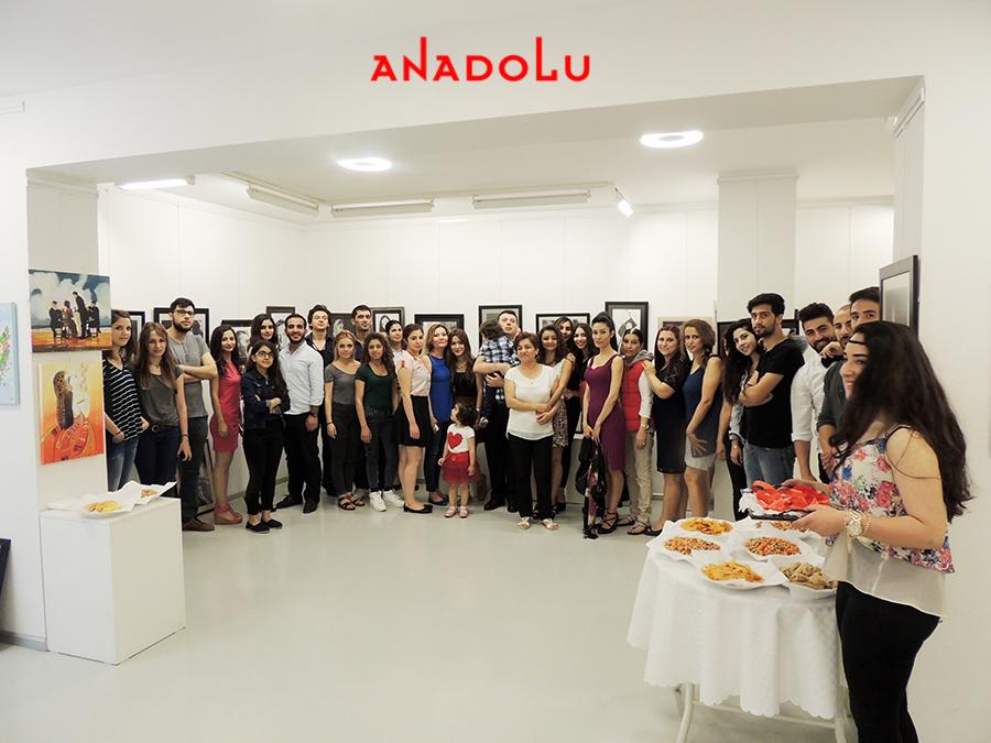 Anadolu Güzel Sanatlarda Sergi Açılışı Bursa