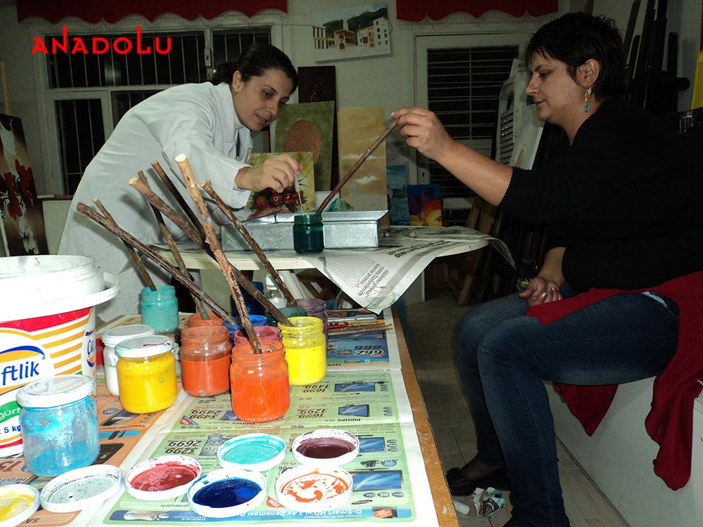 Geleneksel Ebru Kursları Bursa