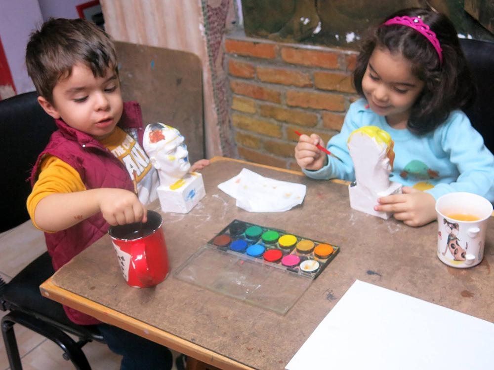 Bursa Çocuk Sanat Dersleri