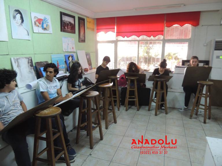 Anadolu Güzel Sanatlar Liselerine Hazırlık Kursları Bursa