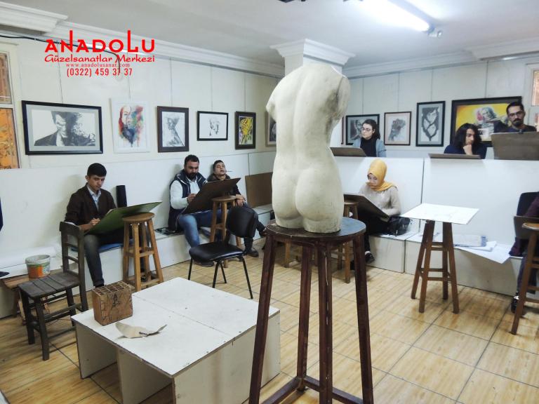 Güzel Sanatlar Fakülteleri İçin Çizim Kursları Bursa