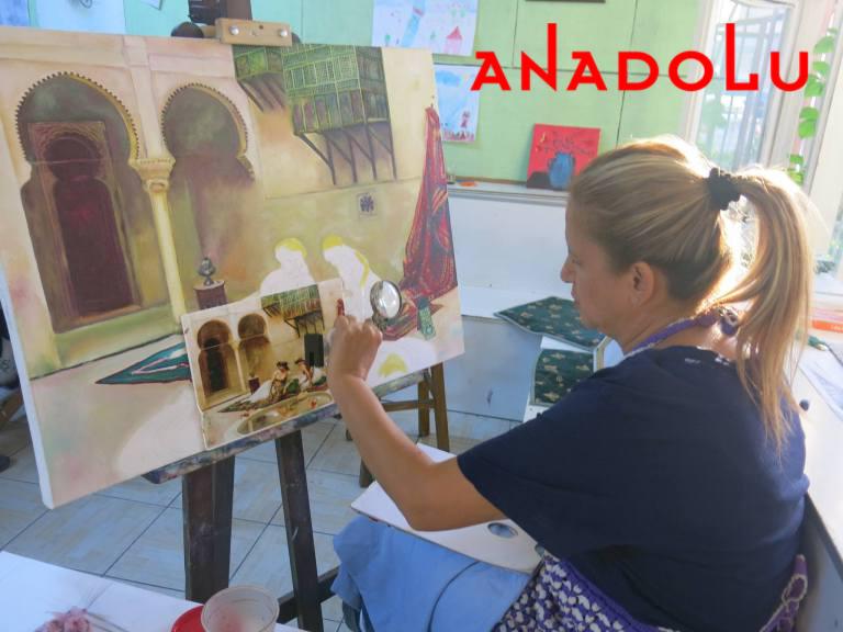 Yağlıboya Manzara Çalışmaları Hobi Grupları Bursa