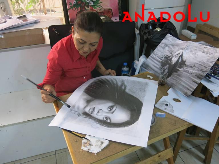 Hobi Dersleri Karakalem Çalışması Bursa