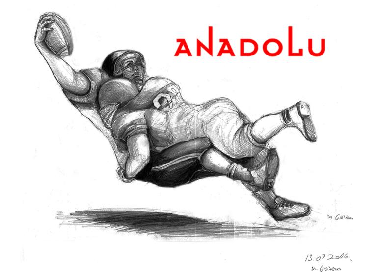 Karakalem Amerikan Futbolu Oynayanlar Bursa