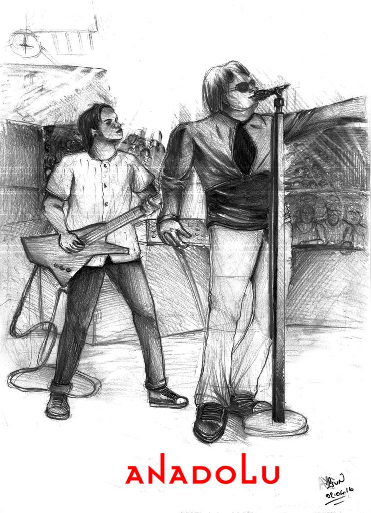 Bursada Karakalem Şarkı söyleyenler