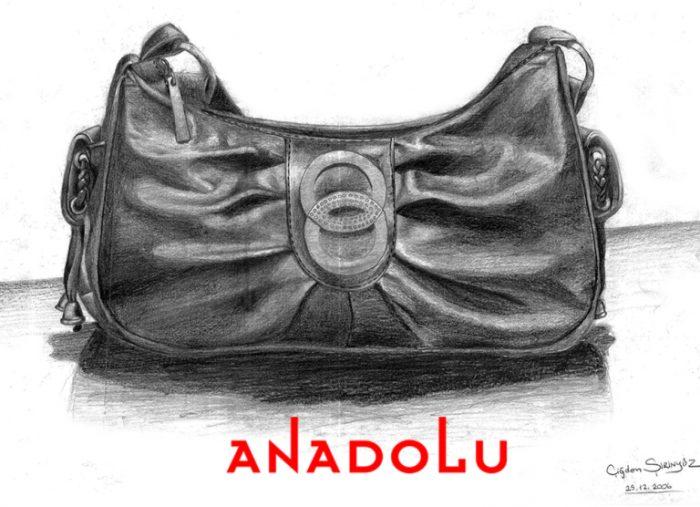 Anadolu Güzel sanatlar Karakalem Çalışma Örnekleri Bursa