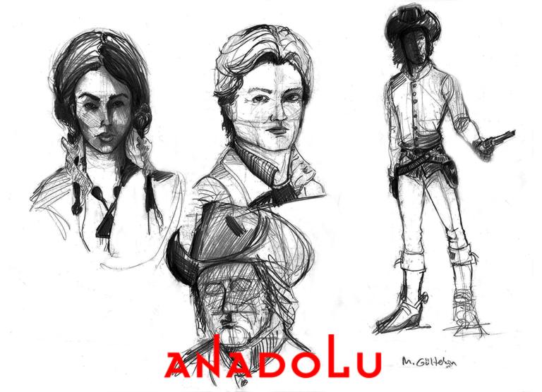 Karakalem Portre Çizimleri Bursa